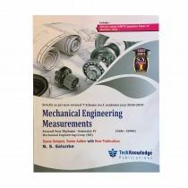Techknowledge Publications Mechanical Engineering Measurement by Salunke Automobile Engineering Sem 4