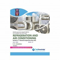 Techknowledge Publications Refrigeration & Air Conditioning by Ambatkar by Mechanical Engineering Sem 6