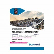 Techknowledge Publications Solid Waste Management by Upadhye For Civil Engineering Sem 6