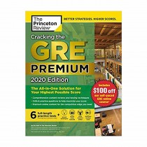 The Princeton Review Cracking the GRE Premium 2020 Edition