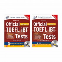 TMH Official TOEFL IBT Test Vol 1 & 2 With Dvd (English)