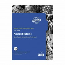 Vision Publications Analog System (Electronics II) For SY BCs Sem I By Demse,Bapat