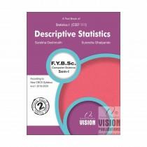 Vision Publications Descriptive Statistics For FY BCs Sem I By Deshmukh and Other