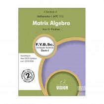 Vision Publications Matrix Algebra For FY BCs By Pandhari