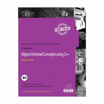 Vision Publications Object Oriented Using C++ For SY BCs Sem II By Ponde
