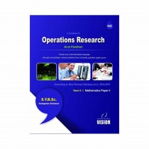 Vision Publications Operations Research (Mathematics II) For SY BCs Sem II By Pandhari