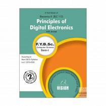 Vision Publications Principles of Digital Electronics For FY BCs Sem I By Arvind