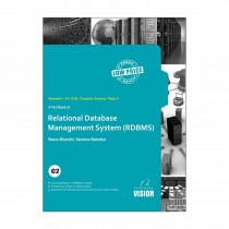 Vision Publications Relational Database Management System For SY BCs Sem I By Bharathi