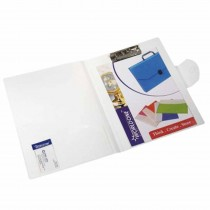 WorldOne Punchless Folder with Flap (A4 Size) Pack of 2
