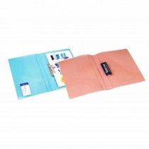 WorldOne Sandy Punchless Report File A4 (Pack of 3)